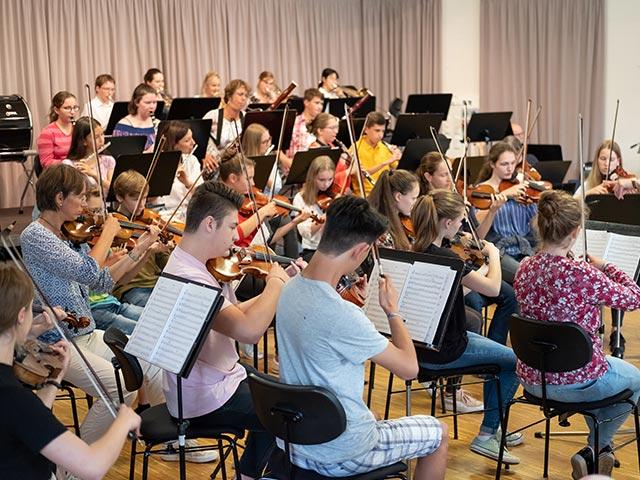 Sinfonieorchester – Musikschule Bayreuth