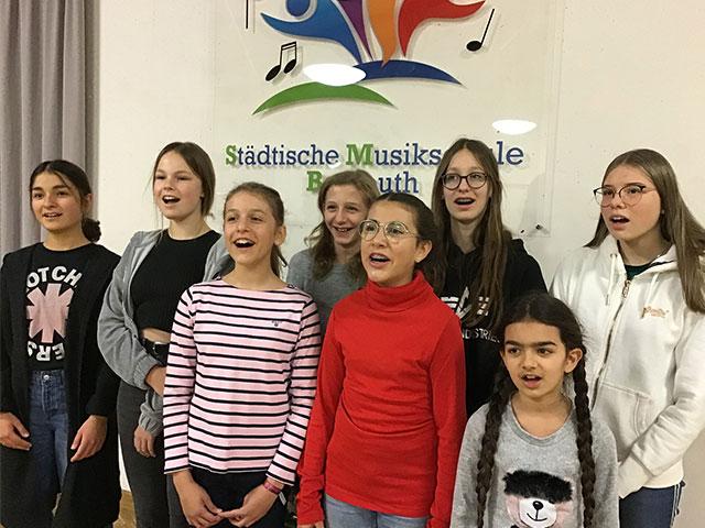 Musikschule Bayreuth – Gesangsensemble