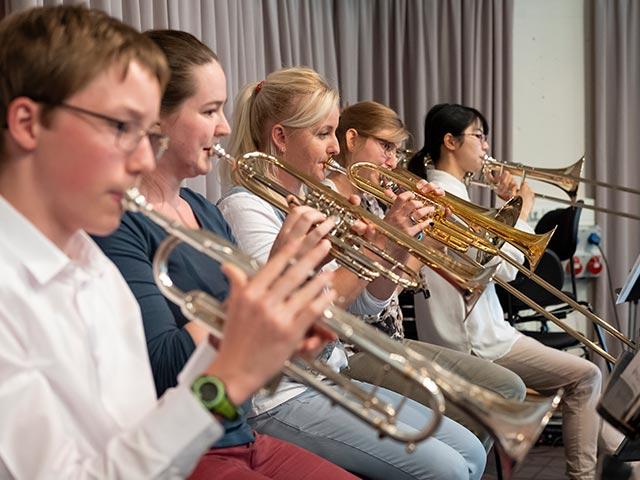 Blechbläser-Ensemble – Musikschule Bayreuth