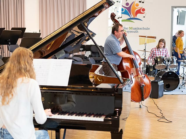 Jazz-Ensemble – Musikschule Bayreuth