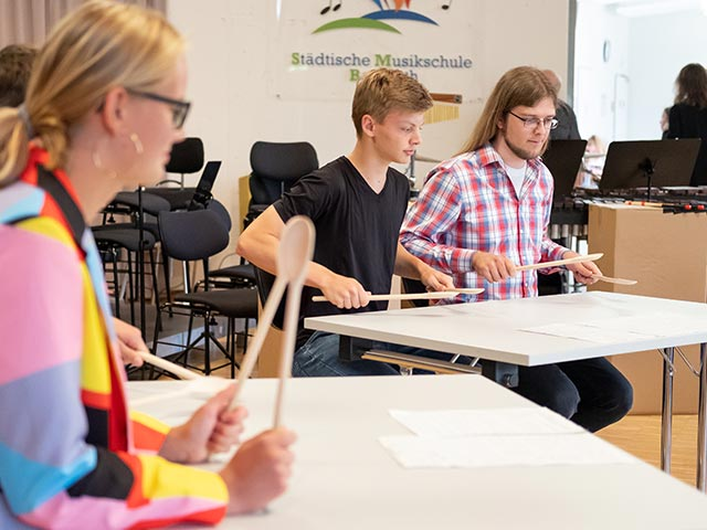 Percussions-Ensemble – Musikschule Bayreuth