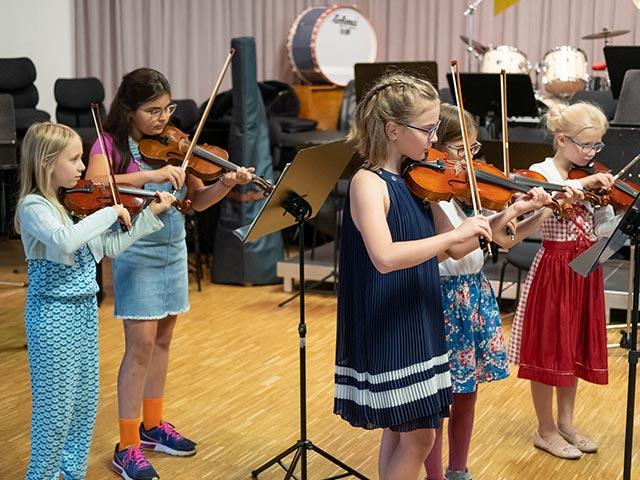 Streicherspielkreis – Musikschule Bayreuth