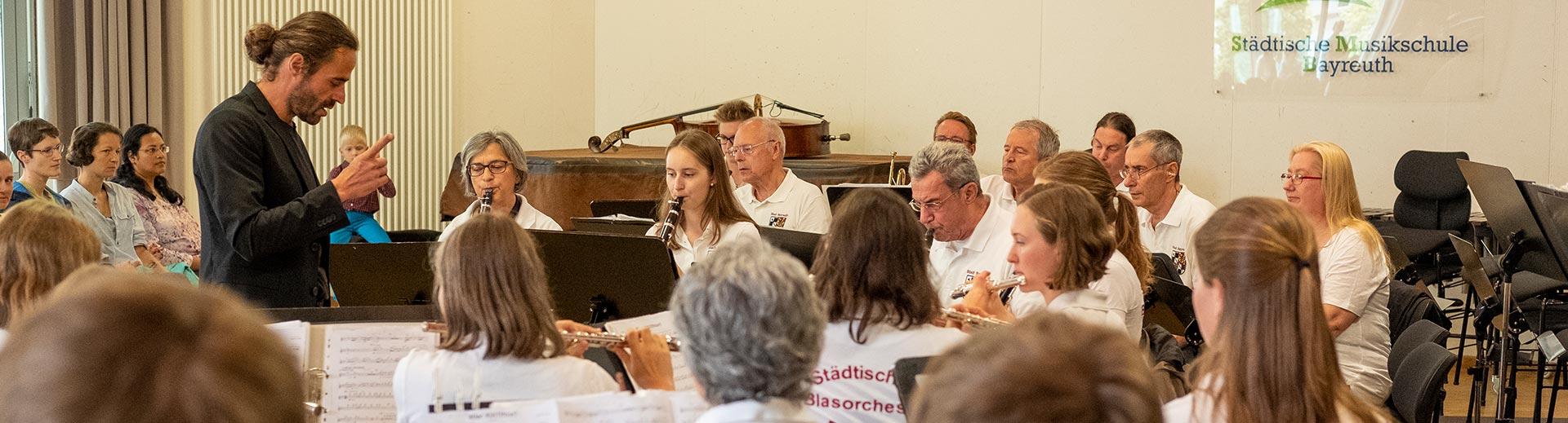 Blasorchester – Musikschule Bayreuth