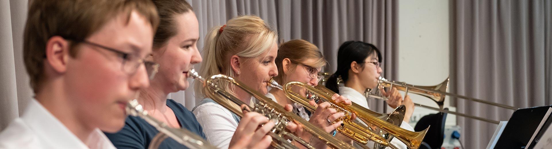 Blechblasinstrumente – Musikschule Bayreuth
