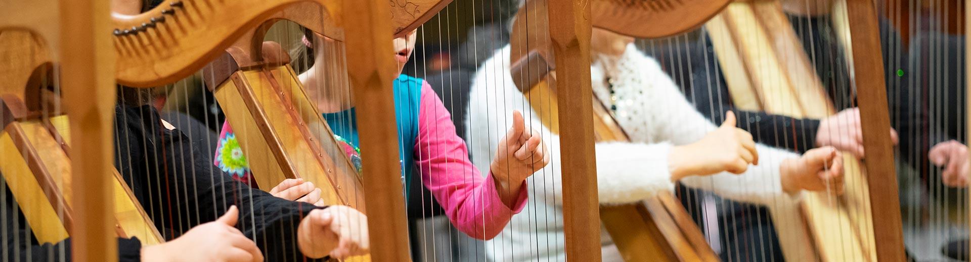 Harfen-Ensemble – Musikschule Bayreuth