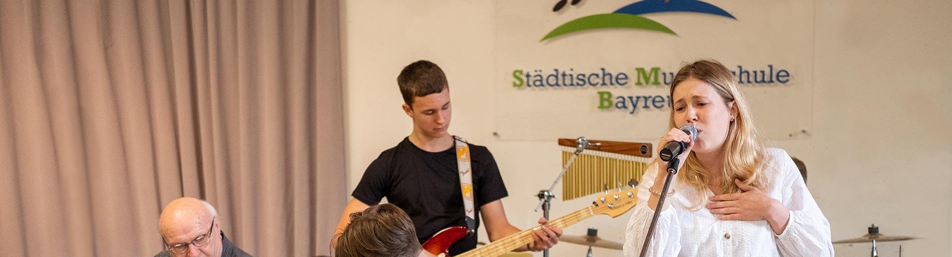 Musikschulband – Musikschule Bayreuth