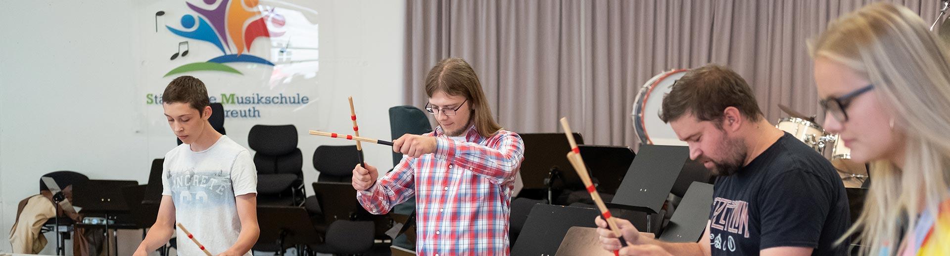 Schlaginstrumente – Musikschule Bayreuth