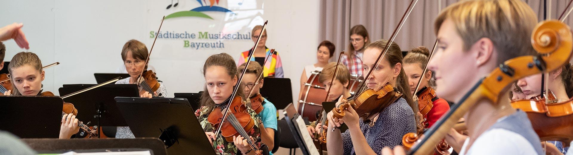 Streicher – Musikschule Bayreuth