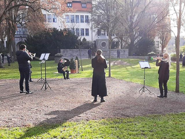 Musikschule Bayreuth – Volkstrauertag Bläserensemble